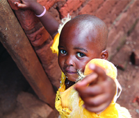 Mary, 3, Uganda / Photo by Laura Pohl